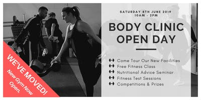 Body Clinic Opening Day