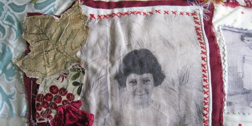Criw Celf Merthyr Tydfil: Textiles course with Alison Moger; Ages: 11 - 16 year olds