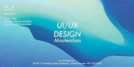 UI/UX Design Masterclass tickets
