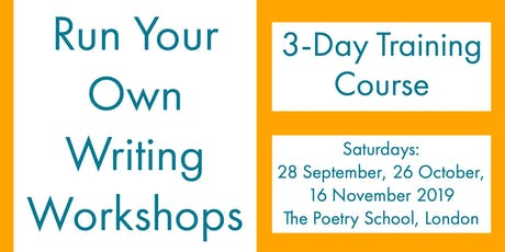 How To Run Your Own Writing Workshops tickets
