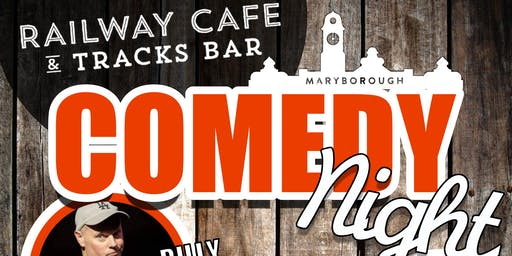 Comedy Night @ Maryborough Railway Station