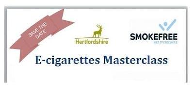 Hertfordshire E-cigarettes Masterclass 2019