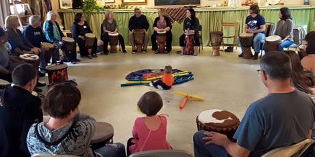 CREATIVE RHYTHMS Monthly HAND DRUM CLASS tickets
