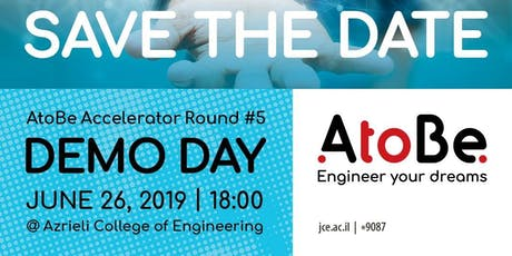 AtoBe Accelerator Demo Day - Round #5 tickets