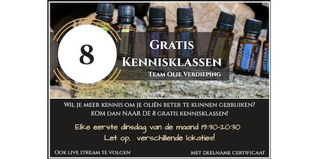 Kennisklassen - 3 september 2019 - Slaap en stress tickets