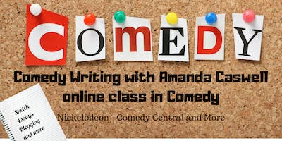 Comedy Writing with Amanda Caswell