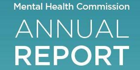 Launch of Mental Health Commission 2018 Annual Report tickets