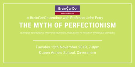The Myth of Perfectionism tickets