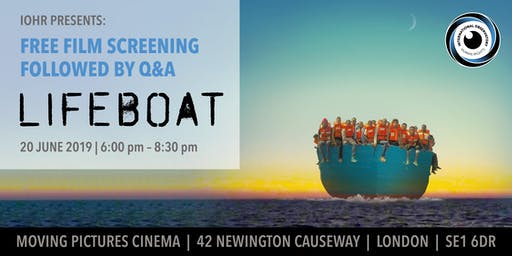 IOHR Presents: Film Screening of Oscar Nominated Film 'Lifeboat'