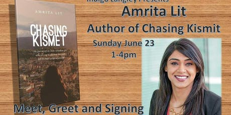 Chasing Kismit- Author Amrita Lit in Person! Book Signing! tickets
