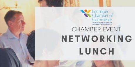 Lochaber Chamber Networking Lunch tickets