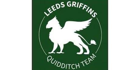Leeds LGBT+ Sport Fringe Festival 2019 Quidditch Event - Leeds Griffins tickets