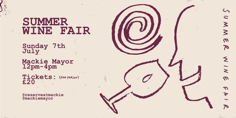 Reserve Wines - Summer Wine Fair tickets