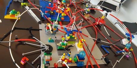 LEGO® SERIOUS PLAY® meistarklase jeb kā domāt ar rokām tickets