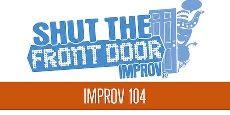 Adult Improv 104 - Starting November 20, 2019 tickets