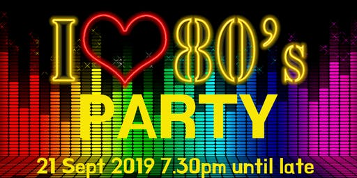 I Love 80's Disco - Party - Bingo