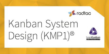 Kanban System Design (KMP1)® bilhetes