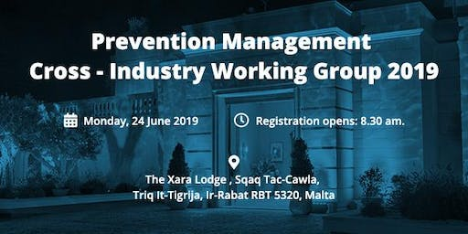 Prevention Management Cross-Industry Working Group 2019