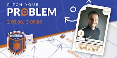 Pitch your Problem - Thema Recht mit Antonio Calderon von Franz Rechtsanwälte
