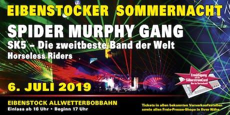 Eibenstocker Sommernacht 2019 // SPIDER MURPHY GANG Tickets