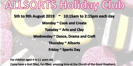 ALLSORTS Holiday Club tickets