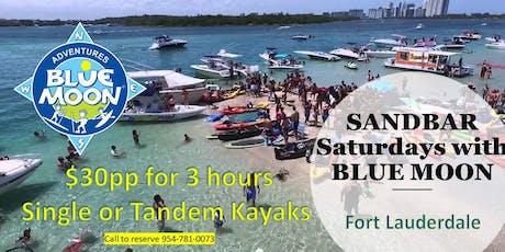 Sandbar Saturdays Paddle Adventures tickets