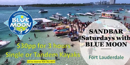 Sandbar Saturdays Paddle Adventures