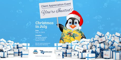 Christmas in July | Client Appreciation Event tickets