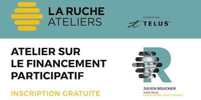 Atelier sur le financement participatif présenté par TELUS - Bas-Saint-Laurent