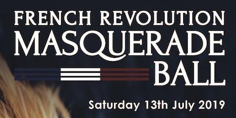 French Revolution Masquerade Ball tickets