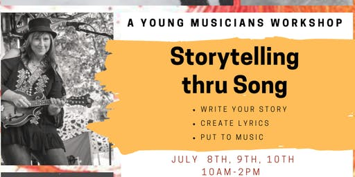 Blood to Ink Songwriting workshop with Kay Miracle