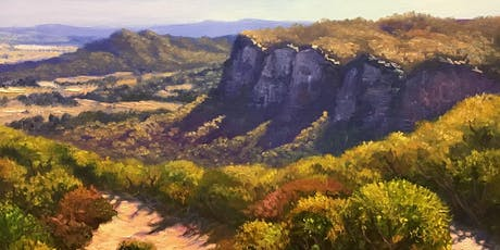 Full-day Oil Painting Class: Painting Blue Mountains tickets