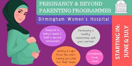 Pregnancy & Beyond: Parenting Programme tickets