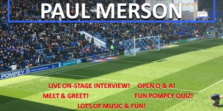 Paul Merson - Pompey Memories tickets