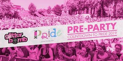 Pride Pre-Party / Glitterbomb Canterbury