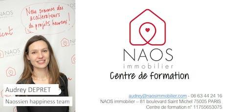 NAOS formation : Le logiciel MyAdapt billets