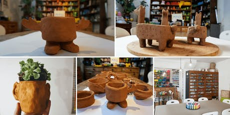 Handmade Pottery - Make Terracotta Planters (1 Part session)  tickets