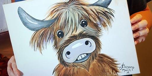 Paint a Coo Aberdeen AM