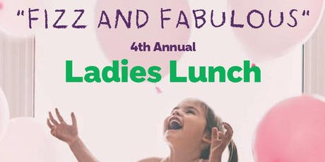 NSPCC Fizz and Fabulous Ladies Lunch tickets