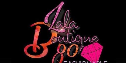 Lala Boutique 80 Sip & Shop