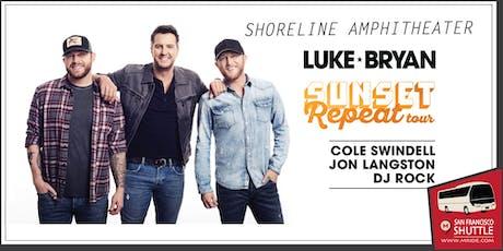 Luke Bryan Party Bus to Shoreline Amphitheater tickets
