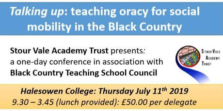 Talking Up: Teaching Oracy for Social Mobility in the Black Country tickets