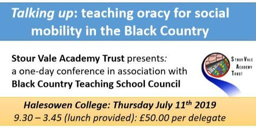 Talking Up: Teaching Oracy for Social Mobility in the Black Country