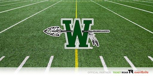 Waxahachie vs Ennis Varsity Football