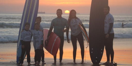 Surf Class in Lisbon