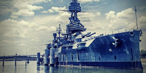 USS Battleship Texas Overnight Ghost Hunt & Sleepover Package, Houston, TX