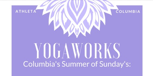 Summer Sundays: Free Yoga Outside Columbia Mall's Athleta with YogaWorks