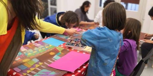 Wednesday After Kindergarten Art Class at DUGU 1030