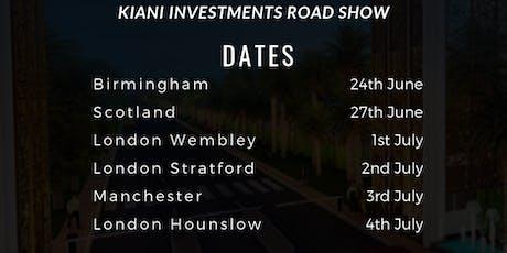 Kiani Investments- Property Road Show (Birmingham) tickets