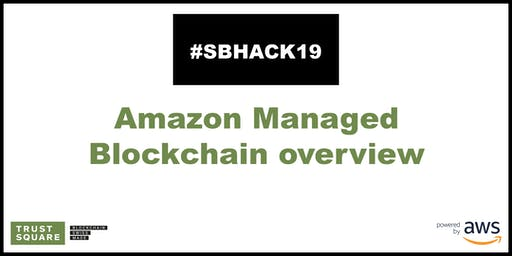 AWS: Amazon Managed Blockchain overview
